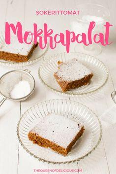 Sokerittomat mokkapalat | Ksylitoli | Xylitol | Sokeriton leivonta | Resepti
