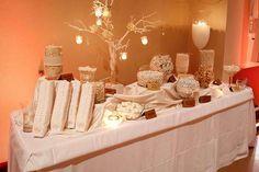 our wedding candy bar