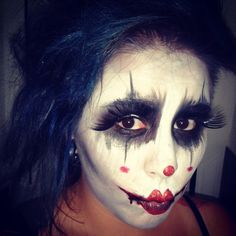 Jenile Leon ... face paint