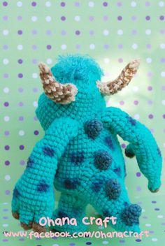 Monster Amigurumi Crochet PDF pattern by OhanaCraftAmigurumi