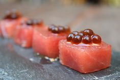 Food Decoration, Canapes, Aesthetic Food, Catering, Sushi, Panna Cotta, Food Photography, Drinks, Ethnic Recipes