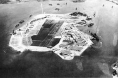 Ford Island, Pearl Harbor, Oahu, US Territory of Hawaii, Oct 10, 1941. Carrier Enterprise and Repair Ship Curtiss are moored alongside Ford ...