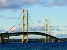At the far northern tip of Michigan's mitten, Mackinaw City is full of old-school lakeside vacation vibes.