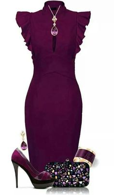 Cute dress. Love the color too!