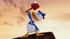 Donald Duck: The Ultimate Toy Box Hero - Disney Infinity Edition) Halle, Crocodile Cartoon, Duck Wallpaper, Mickey Mouse Donald Duck, Disney Pixar Movies, Disney Characters, Duck Tales, Walt Disney Company, Disney Infinity