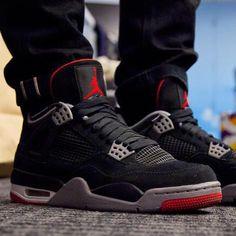 "TOUGH Jays! ""@theartofboredom's Air Jordan IV ""Breds"" #ComplexKicks"""