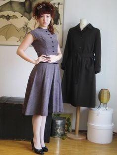 vintage dress tut