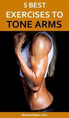 Toning Workouts, Easy Workouts, At Home Workouts, Best Arm Toning Exercises, Weight Training Workouts, Fitness Workout For Women, Fitness Diet, Bicep Workout Women, Health Fitness