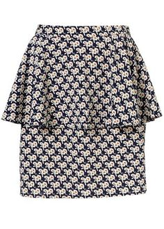Topshop floral print skirt, £34
