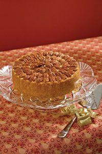 Caramel Pecan Cheesecake- paula deen