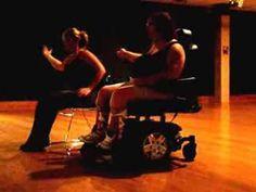 ▶ Wheelchair Zumba - Warm up - Feel This Moment - Pitbull ft. Christina Aguilera - YouTube