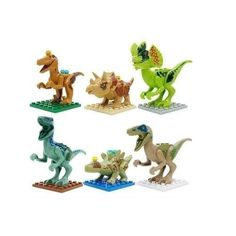 Lego Compatible Jurassic World Dinosaur Toy 6 piece set $5.75 Shipped! - http://couponingforfreebies.com/lego-compatible-jurassic-world-dinosaur-toy-6-piece-set-5-75-shipped/