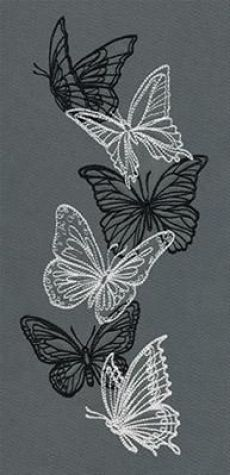 Embroidery Leaf, Butterfly Embroidery, Embroidery Patterns Free, Silk Ribbon Embroidery, Hand Embroidery Designs, Vintage Embroidery, Cross Stitch Embroidery, Beginner Embroidery, Embroidery Sampler
