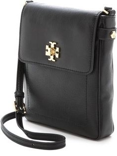 444f52bae72f Tory Burch Mercer Bookbag Shoulder Black Leather Cross Body Bag 24% off  retail