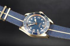 The Tudor Black Bay Bronze Turns Blue… For Bucherer Only