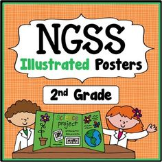 "Next Generation Science Standards ""I Can..."" Statements (2nd Grade) - Save a ton of time by buying our pre-made posters that cover ALL NGSS Performance Expectations.  These posters provide a quick, easy, and effective way to show administrators, fellow teachers, and students what performance expectations are being covered that day/week/month."