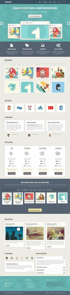 FlexiCV Wordpress Theme | #webdesign #flatui #theme | Next Level oUI ...