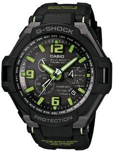 Casio GW-4000-1A3ER – Reloj analógico de cuarzo para hombre con correa de resina, color negro | Your #1 Source for Watches and Accessories