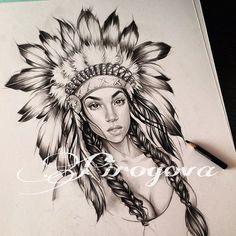 Нечто совершенно для меня иное) Наташ, спасибо за вдохновение и твою потрясающую идею🙏🏼 @nata_pono4ka Native American Tattoos, Native Tattoos, Native American Girls, American History, Body Art Tattoos, New Tattoos, Hand Tattoos, Sleeve Tattoos, Wolf Girl Tattoos