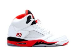 new style 9d1c5 b9159 Youth (BOYS) Nike Air Jordan 5 Retro (GS) Basketball Shoes White