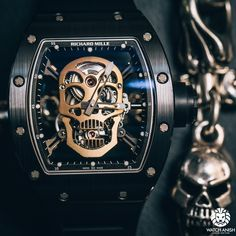 RM 052 Tourbillon Skull