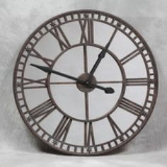 et103 large antiqued clock with mirror face 1500x500jpg 500