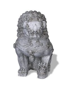 Amedeo Design ResinStone 2000-3G Foo Dog, Left Facing, 28 by 20 by 41-Inch, Lead Gray by Amedeo Design Statuary Collection. $826.33. Remarkably Light, Strong & Weather-Proof (120 to -20 degrees). Hand-Made in the USA by Local Artisans. Remarkably lightweight, strong, weather-resistant, and repairable. Amazing stone-like appearance that's ideal for use inside and out. Constructed of ResinStone, a proprietary blend of stone talcum, high performance resin, and fiberglass. Ba...