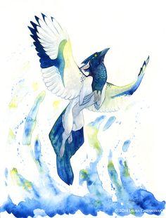 Crystalline Flight by LauraGarabedian on DeviantArt