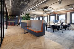 Green Office, Expanded Metal, Air Conditioning System, Gouda, Black Kitchens, Corporate Identity, Office Interiors, Retail Design, Basic Colors