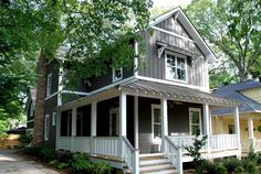 A new craftsman bungalow with historic charm. - traditional - exterior -