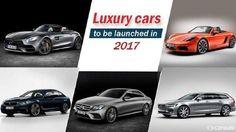 Luxury cars in 2017
