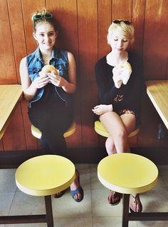 Donuts in LA (Willow Shields) (Autumn Shuelds)