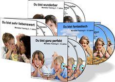 Glückliche Kinder 3 bis 12 jahren als 4 Doppel-CDs www.kinder-selbstwertgefuehl.de