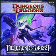 Dungeons & Dragons: The Legend of Drizzt Board Game | Image | BoardGameGeek