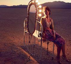 Gorgeous Liu Wen Joins the Circus for Vogue Australia - My Modern Metropolis