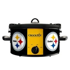 Official NFL Crock-pot Cook & Carry 6 Quart Slow Cooker -(Pittsburgh Steelers) by Crock-Pot, http://www.amazon.com/dp/B00AK23B2W/ref=cm_sw_r_pi_dp_vVtisb1BAQNFW