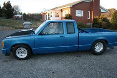 1984 Chevy S10 Pro Street -1984 Chevy S-10 extended cab pro street, 29 x 18.50 convo pro with Mickey Thompson radials. Dana 60 laddar bars, coil overs on all four corners. Custom tubular a-arms, rack and pinion steering, t-5 five speed transmission, MSD ignition, full roll cage. Very fast and a lot of fun on the street. Manual No Smoke - See more at: http://www.cacars.com/Car//Chevy/S10/Pro_Street/1984_Chevy_S10_for_sale_1000006.html