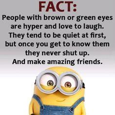 I have green eyes & I agree