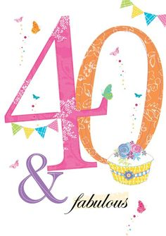 Ideas Birthday Message For Daughter Pictures For 2019 40th Birthday Messages, 40th Birthday Quotes, Happy 40th Birthday, Happy Birthday Pictures, Art Birthday, Birthday Greetings, Birthday Ideas, Birthday Message For Daughter, Birthday Cards For Niece