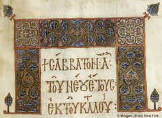 Lectionary, MS M.647 fol. 119r - Images from Medieval and Renaissance…
