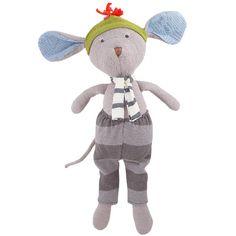 Hazel Village Oliver Mouse Organic Cotton Doll