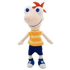 Disney Phineas Plush Mini Bean Bag Toy -- 10'' Disney http://smile.amazon.com/dp/B002R9I7K2/ref=cm_sw_r_pi_dp_aoF-tb08WM8P0