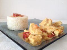 Poulet curry coco - Tizi cooks