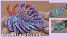 How to Crochet Beautiful Leaf Tutorial 48 Hoe het blad te haken Crochet Leaf Patterns, Crochet Leaves, Form Crochet, Crochet Art, Crochet Hook Sizes, Irish Crochet, Crochet Motif, Crochet Flowers, Crochet Stitches