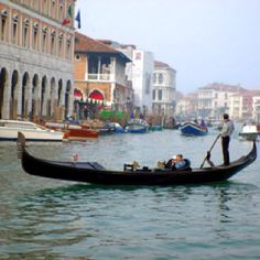 The canals in Venice Italy