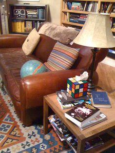 Love the Big Bang Theory Rubix Cube Tissue Box