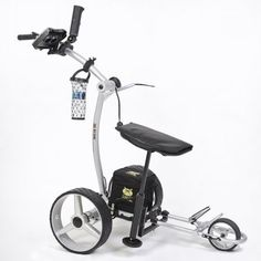 Bat Caddy Electric Golf Cart with Lithium Battery & Remote Control in Golf Carts. Golf Trolley, Golf Carts, Golf Basics, Electric Golf Cart, Best Pc Games, Golf Club Sets, Golf Putting, Golf Tips For Beginners, Golf Courses