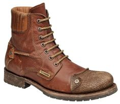 BOTA CUADRA MOD. 2E08TIM | SEARS.COM.MX - Me entiende! Mens Fashion Shoes, Men S Shoes, Fashion Boots, Bike Boots, Punk Shoes, Vintage Boots, Designer Boots, Black Leather Boots, Casual Shoes