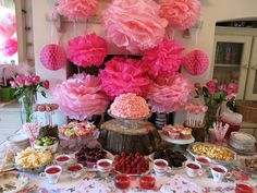 Cosmos and Cotton: Fairy Princess Birthday Party