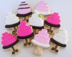 Tiered Cakes Mini Sugar Cookies- 2 dozen